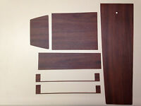 1966-67 Impala Ss Console Wood Grain Trim For Automatic Models