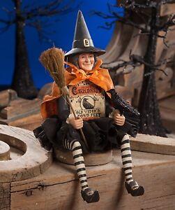 Bethany-Lowe-Halloween-Witch-Box-TJ7737-New-Shelf-Sitter