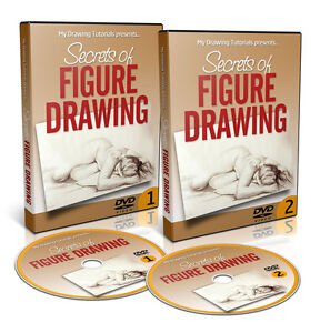 Details about Secrets of Figure Drawing DVD Course - How To Draw Realistic  Human Figures