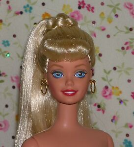 Something is. A real nude blond barbie many thanks