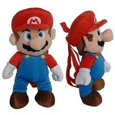 Super Mario Bros. Mario 16 Plush Backpack by Nintendo