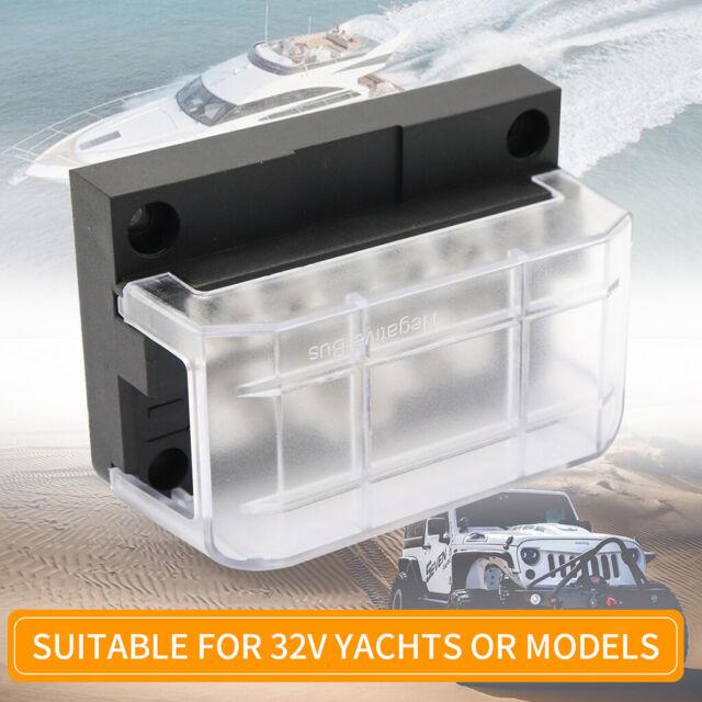 12//24V 10-Wege-Stromverteiler 100A BusBars für Boot Jacht Wohnmobil