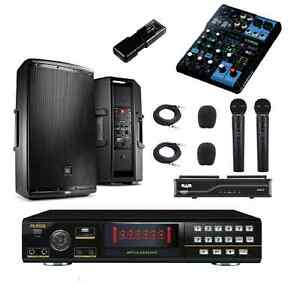 NEW-KARAOKE-SYSTEM-RSQ-MACHINE-PRO-PLAYER-YAMAHA-JBL-EON-SPEAKERS-RECORDING