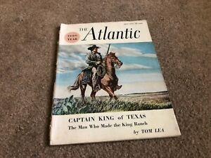 APRIL-1957-ATLANTIC-MONTHLY-vintage-magazine-CAPTAIN-KING-OF-TEXAS