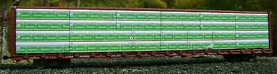 """ExactRail centerbeam HO SCALE:/""""MATERIAUX BLANCHET/"""" load for Walthers,Atlas"""