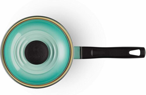 Le Creuset Kitchen Limited Saucepan Cool Mint 14cm Enamel Japan New w// Tracking
