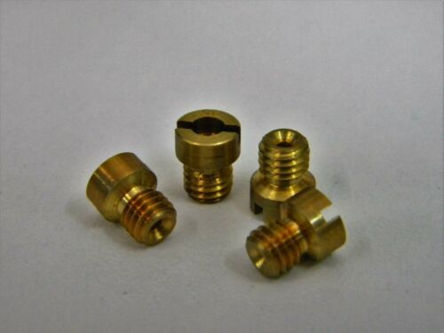 Holley-QFT-AED CCS 126-26 10-32 Screw In Air Bleed .026 Pack of 4