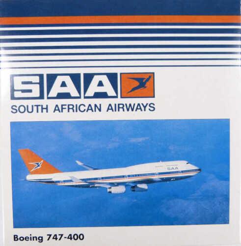 Boeing 747-400 SAA South African Airways Herpa 500685 1:500