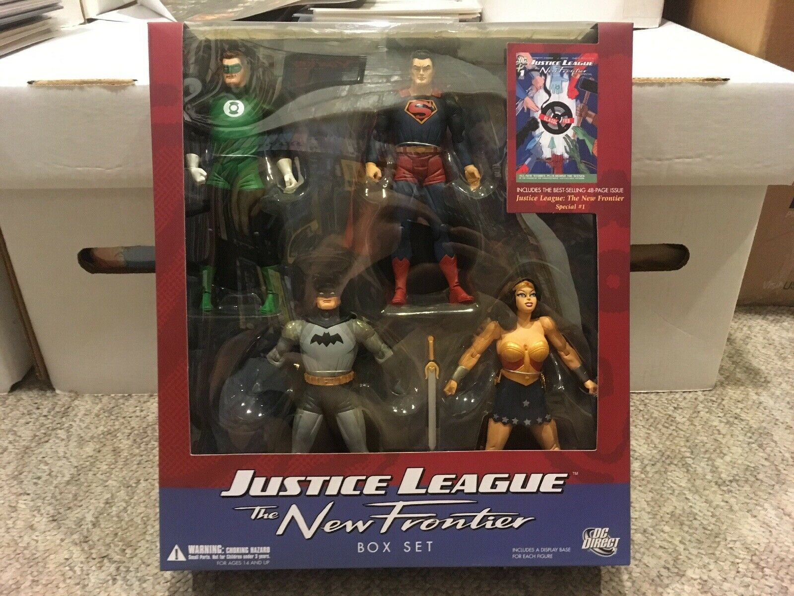 Justice League The nuovo davantiier scatola Set cifra  Superuomo Batuomo Wonder donna  compra meglio