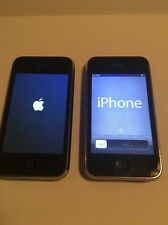 2 Apple iPhone 3GS - 32GB - Black (AT&T) Smartphone (A1303) CLEAN ESN/IMEI