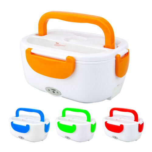 Electric Heating Lunch Box Food Rice Heated Container Warmer For Home Car Work