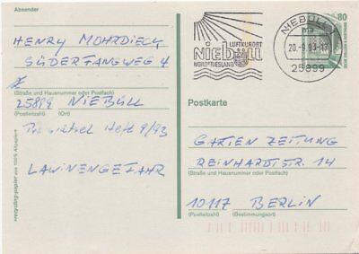 """Niebüll """"luftkurort Niebüll Nordfriesland"""" Gs Mit Maschinenstpl Bund"""