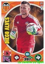 325 DIEGO ALVES BRAZIL VALENCIA.CF CARD ADRENALYN 2015 PANINI