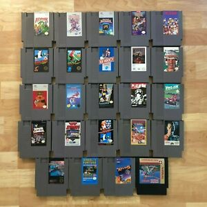 Lot-of-24-Nintendo-Entertainment-System-NES-Games-Great-Condition-Used-C11