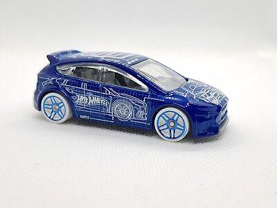 Hotwheels Ford Focus Rs-ottimo-mostra Il Titolo Originale Alta Qualità