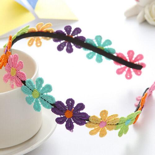 Mini Flower Hairband Garland Flower Hairband For Girls Flower Crown Hair Band FO