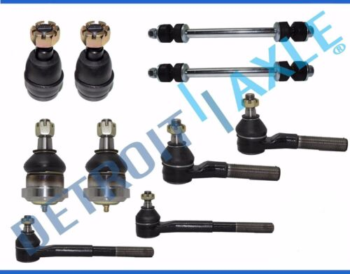 Upper Lower Ball Joints Inner Outer Tierods for 94-96 Dodge Ram 2500 3500 RWD