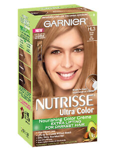 Garnier Nutrisse Ultra Color Creme Hl3 Golden Honey Kits | eBay