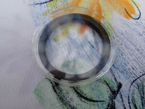 X6D-38mm black foam ring thick capsule fits Queens Beast coins ONE