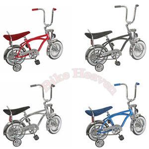 "Original 12/"" Lowrider Bike Coaster Brake 52 Spokes With Training Wheels NEW!!"