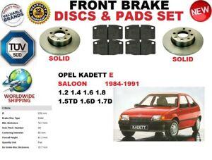para-OPEL-KADETT-E-T85-84-91-Sedan-Delante-RESISTENTE-Juego-discos-freno