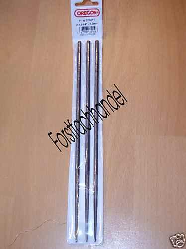 Rundfeilen 3 Stück Rundfreile Sägekette Oregon 4,8 mm