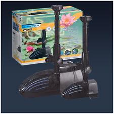 Pompa elettropompa con filtro per fontane e laghetti ULTRATECH 800 Made in Italy