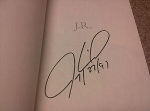 Signed-Jeremy-Roenick-JR-2012-Hardcover-Hockey-Chicago-Blackhawks-Flyers