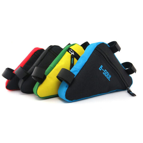 Bicycle Cycling Bike Frame Front Tube Triangle Bag Saddle Pouch Storage Panniers