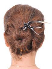 BUFFALO HORN SWALLOW BIRD HAIR STICK HAIRSTICK HAIR ACCESSORY HANDMADE GIFTS