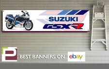 Suzuki GSXR 750 Slingshot Banner para taller, garaje, Cueva de hombre, Pit Lane, etc.