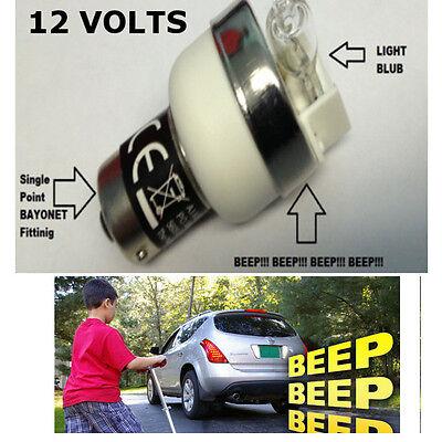 REVERSING BULB BLEEPER BEEPER MINIBUS BUS CAR 4X4 SUV KITCAR CAMPER CARAVAN 12V