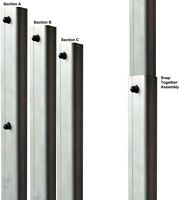 Purple Martin Pole S And K 12 Ft Lightweight Tri-tel Telescoping Strong Aluminum