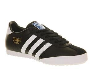 separation shoes 22e03 42ba6 ... Adidas-bamba-Baskets-decontractes-pour-hommes-noir-en-
