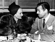 8x10 Print Clark Gable Carole Lombard  #3642