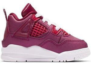 "9d45cacbaa2569 Air Jordan Retro 4 ""Berry Pink"" True Berry Rush Pink-White (TD ..."
