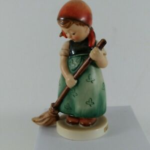 "Hummel Goebel ""Little Sweeper"" #171. 4.75"" tall - TMK-3- stylized bee -W Germany"