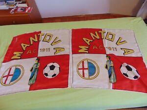 Bandiera Flag Tifo Stadio Calcio Football No Sciarpa Mantova 2 Bandiere A.c.1911