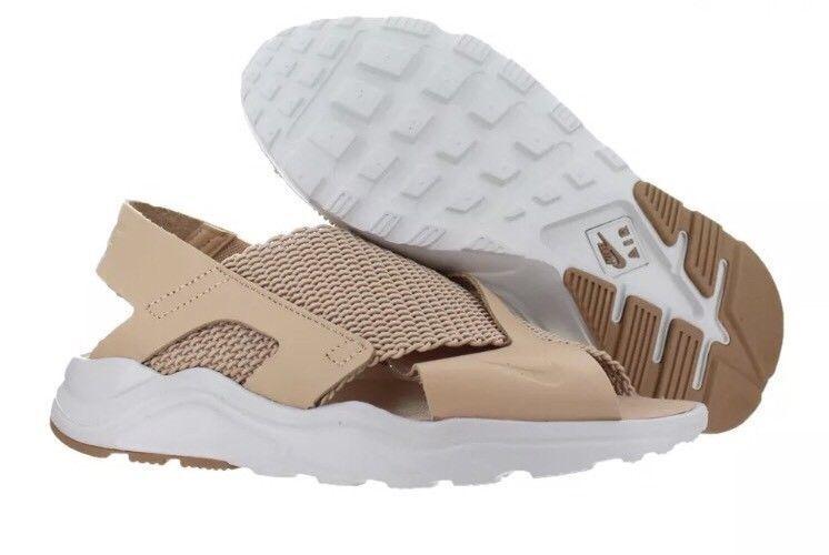ed64a1eb5b83 Nike Air Huarache Ultra Women s Athletic Sneakers Tan Tan Tan  885118 200   Size 8