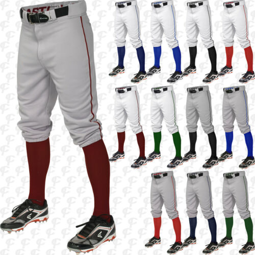 Easton Youth Boys Pro Knicker Baseball Pants With Piped Piping Braid A167106