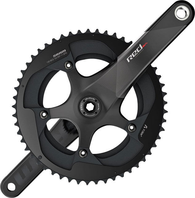 SRAM Red 22 11 Speed  Exogram BB386 Carbon Road Bike Crankset eTap 34 50 x 170mm  no minimum