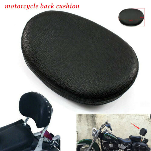 Motorcycle Riding Rear Shelf PU Seat Lumbar Support Cushion Pack Backrest Pad