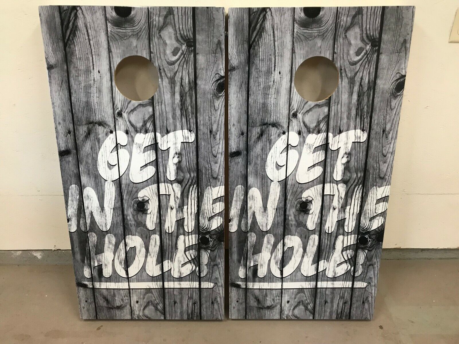 Get In The Hole Corn Hole Boards - Bean  Bag Toss Game  up to 60% off