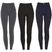Ladies High Waisted Super Skinny Tube Stretch Joni Pencil Jeans Jeggings UK 6-16