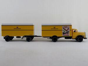 Wiking-860-501-MB-L-6600-Paketkraftwagen-1950-034-DBP-034-1-87-H0-NEU-unbespielt