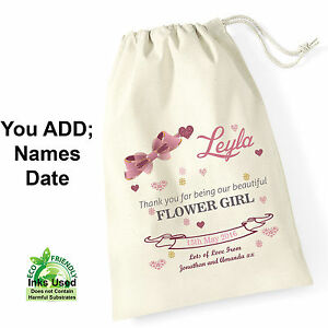 Flower-Girl-Personalised-Bridesmaid-Gift-Bag-Printed-Wedding-Favour-Thank-You