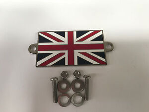 PLAQUE-EMAILLEE-UNION-JACK-BADGE-A-VISSER