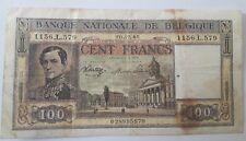 Billets, Belgique, 100 Francs, 1944-1945, Belgïe 20-12-1945