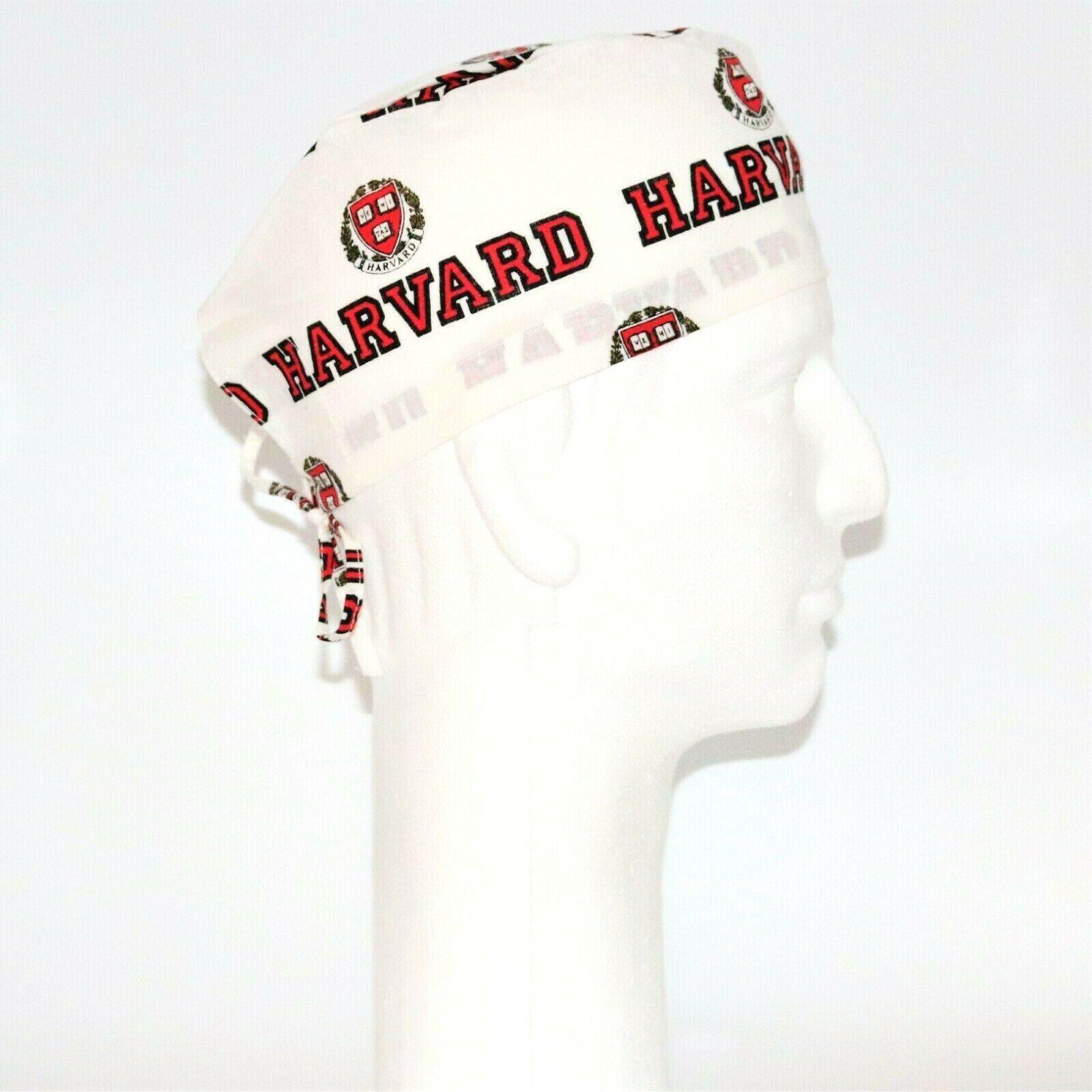 Harvard Theme Scrub Hat 6