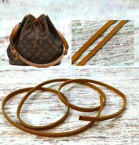 Patina-Leather-Drawstring-Replacement-cord-Strap-For-Petite-Noe-Drawstring-Bag